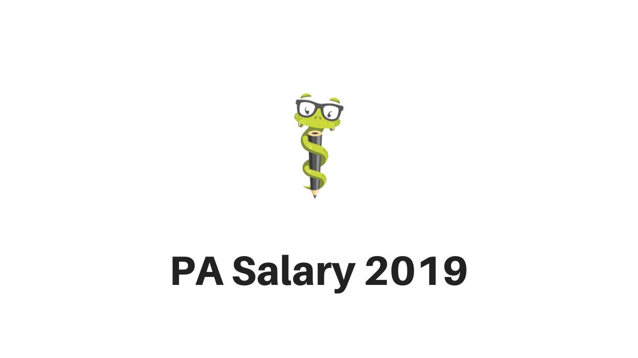Medgeeks PA Salary 2019