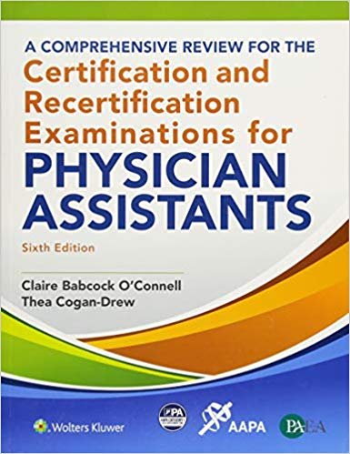 Comprehensive Review for Certification of PA's
