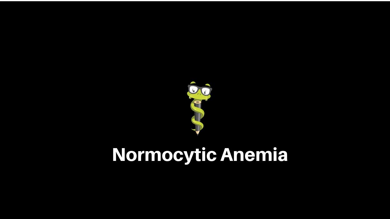 normocytic-anemia