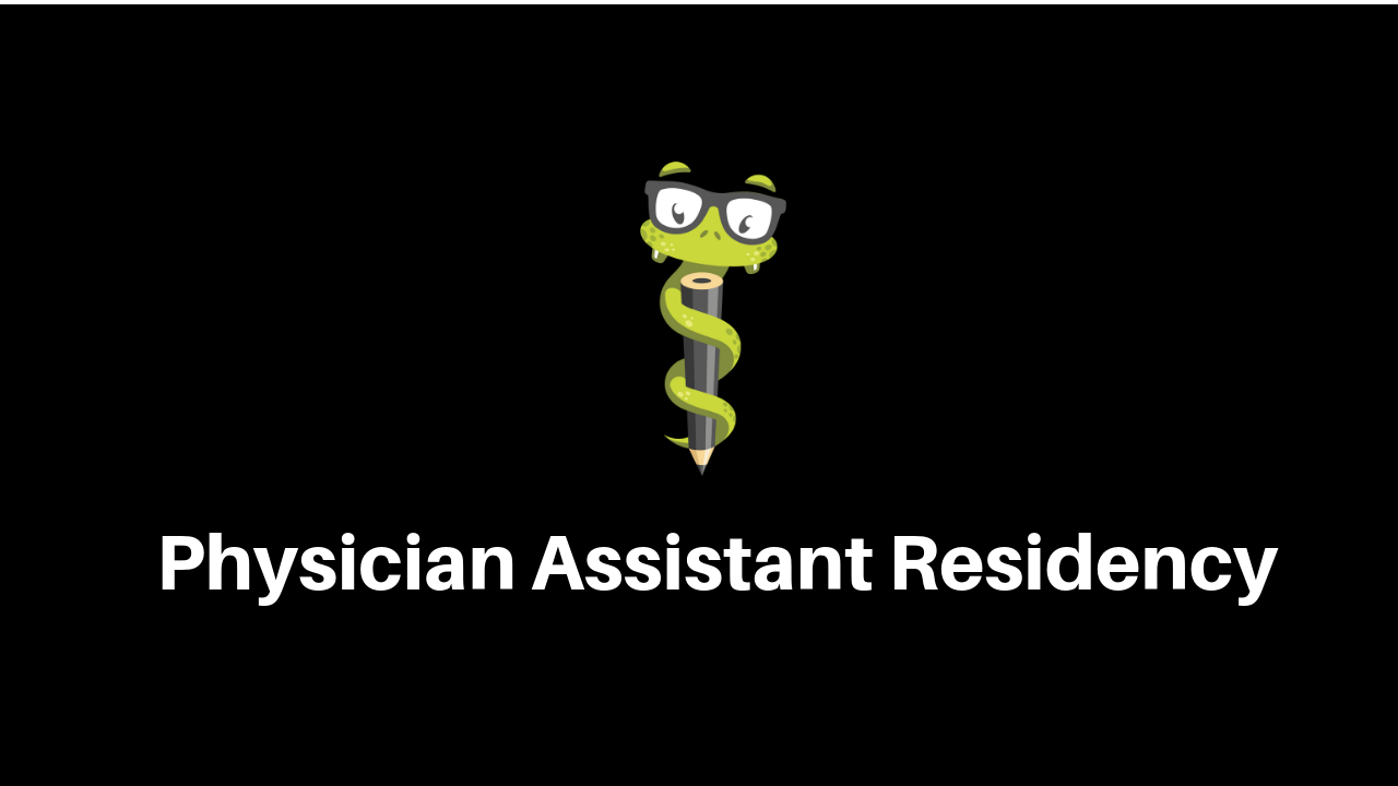 Physician Assistant Residency - Medgeeks