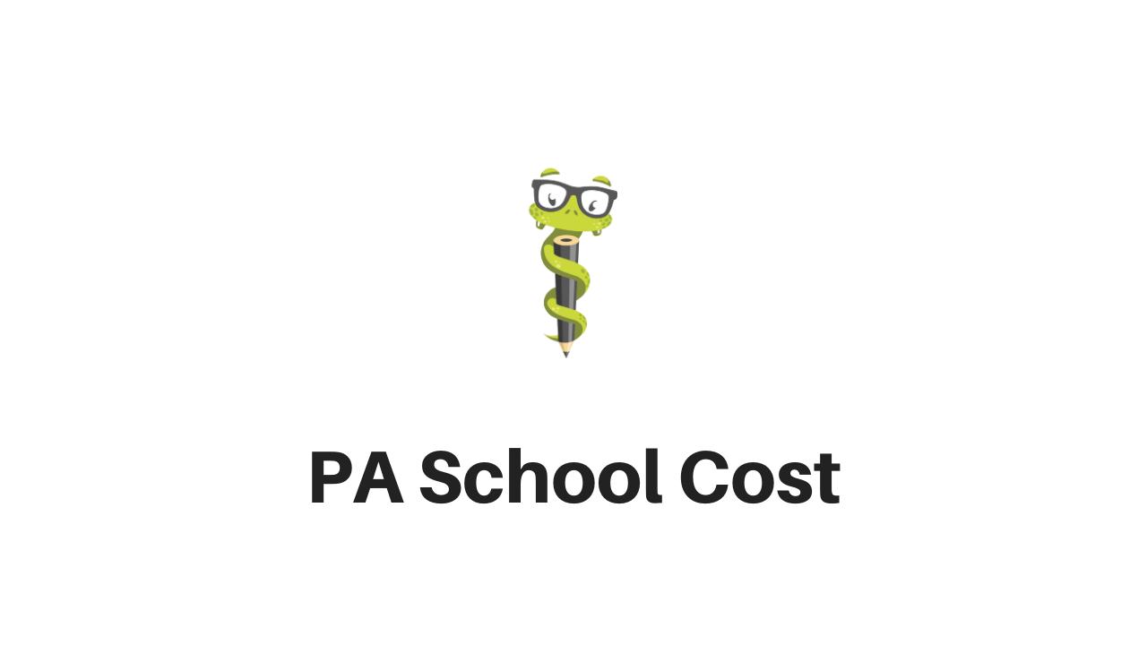 Medgeeks PA School Cost