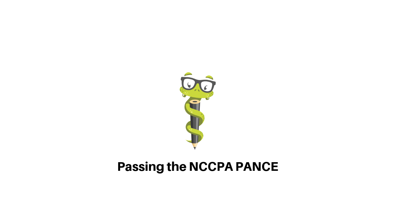 Passing the NCCPA PANCE - Medgeeks