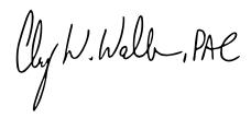 Clay Walker Signature