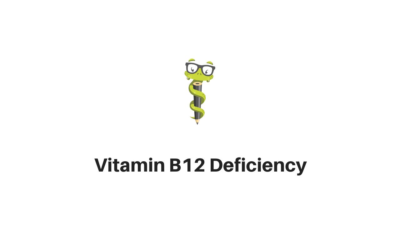 vitamin-b12-deficiency