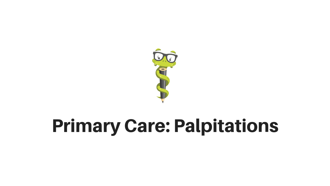 Medgeeks Evaluating Palpitations in Primary Care