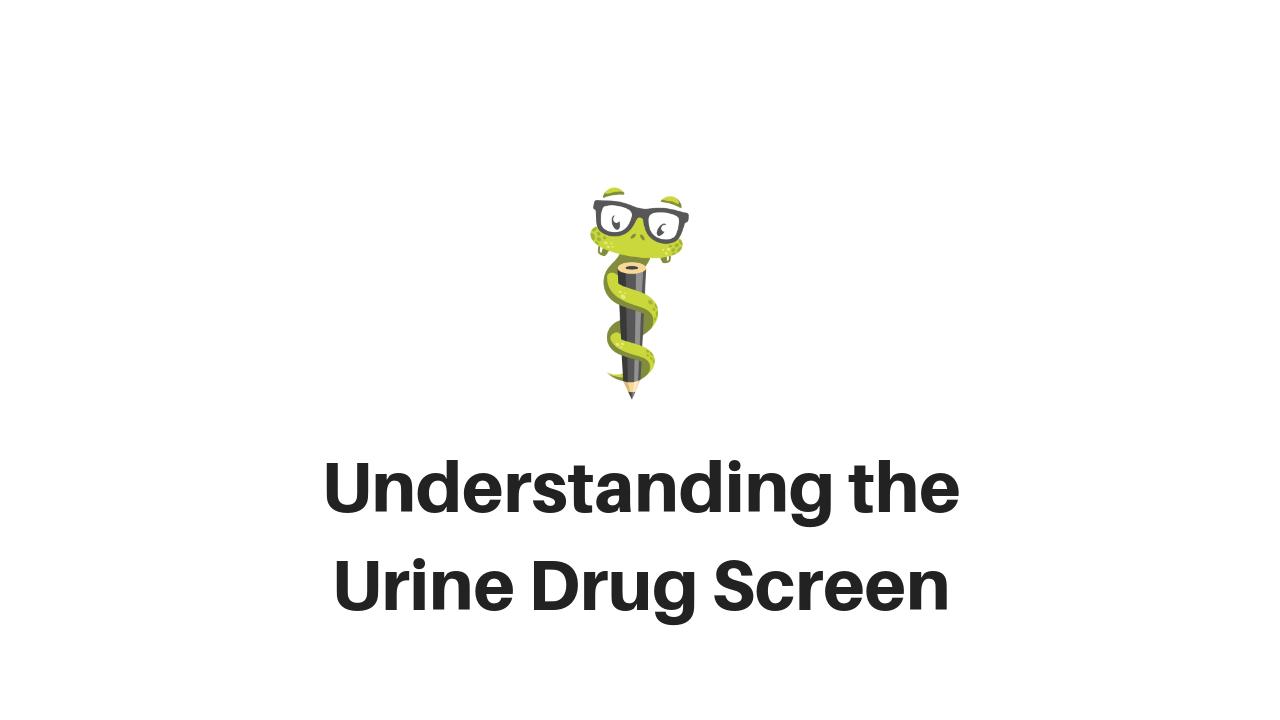 Medgeeks Urine Drug Screen