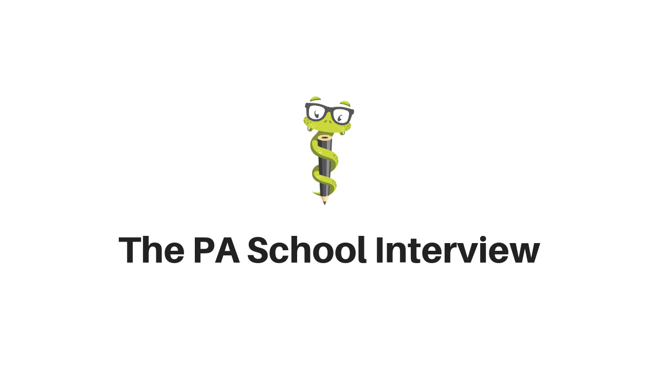 Medgeeks PA School Interview Questions