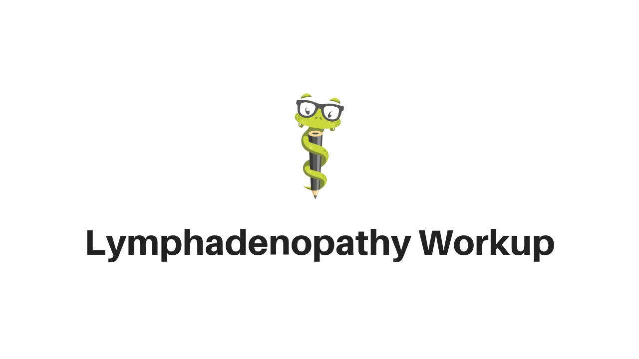 Medgeeks Lymphadenopathy
