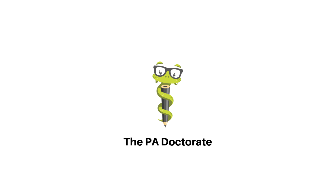 Physician Assistant Doctorate - Medgeeks